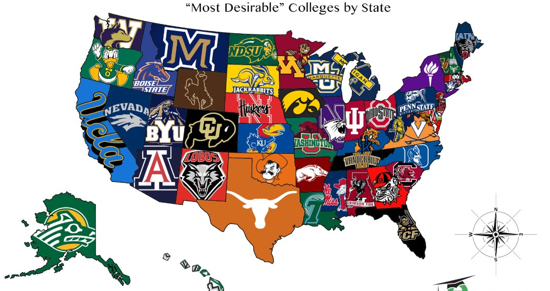 The Six Best USA's Colleges